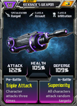 Event Kickback's Weapon