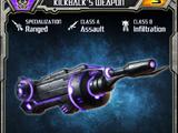Event Kickback's Weapon