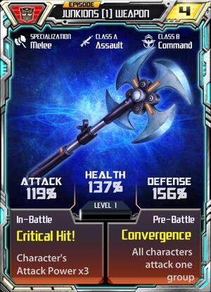 Junkions 1 Weapon