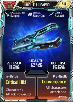 Whirl (1) Weapon