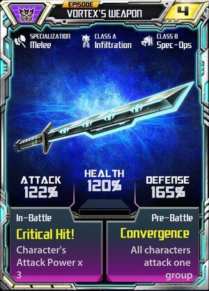 Vortex 1 Weapon