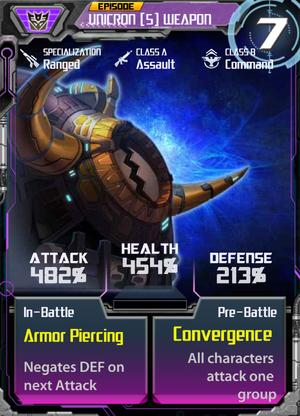 Unicron 5 Weapon