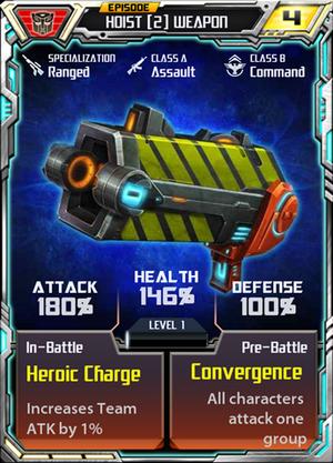 Hoist 2 Weapon