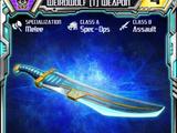 Weirdwolf (1) Weapon