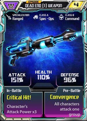 Dead End 1 Weapon