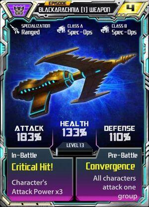 Blackarachnia 1 Weapon