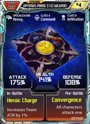 Optimus Prime 13 Weapon