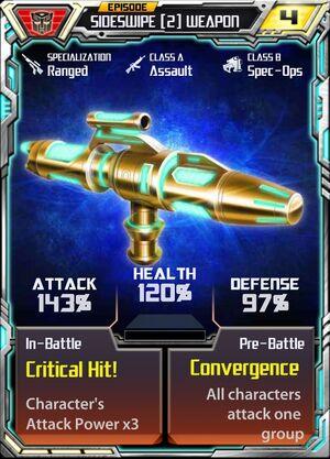 Sideswipe (2) Weapon
