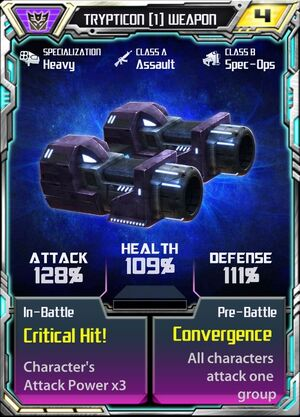 Trypticon (1) Weapon