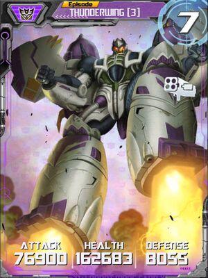 Thunderwing 3 Robot