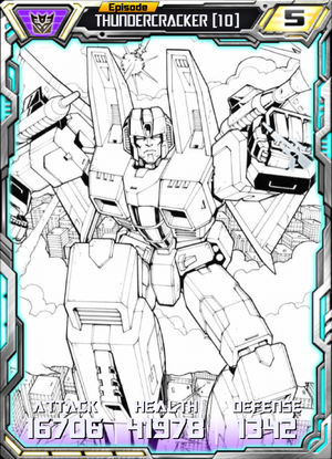 Thundercracker 10 Robot