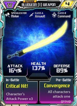 Bludgeon 1 Weapon