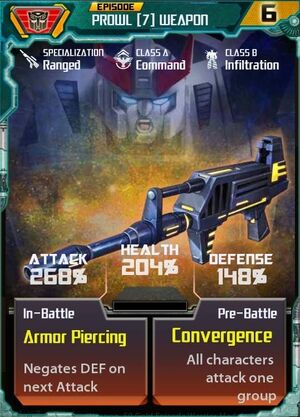 Prowl 7 Weapon