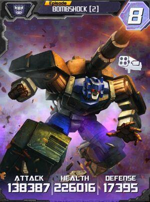 Bombshock 2 Robot