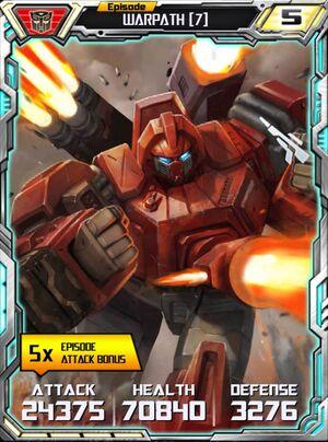 Warpath 7 Robot