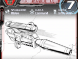 Autobot Jazz (11) Weapon