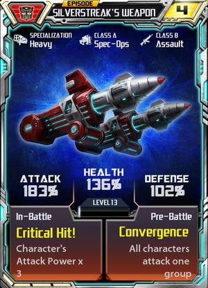 Silverstreak 1 Weapon