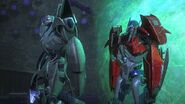 One shall rise part 2 screenshot Prime and Megatron