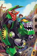 Robots in Disguise Ausgabe 3 Cover Blank