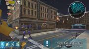 Transformers The Game PSP Tranquility Steel Yards Bumblebee vs Payload