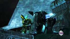 Bumblebee kills megatron by spidyphan2-d6fftws