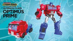 Optimus Prime Ultimate Cyberverse
