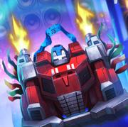 Knights of Unicron Optimus Prime Vehicle Mode