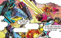 G1 Turbomasters Predators comic