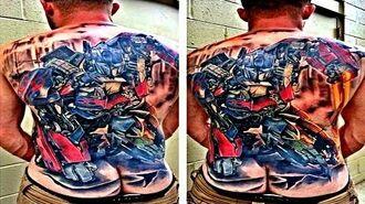 Transformers Best Tattoos 2017