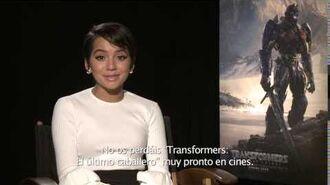 Transformers El Último Caballero Saludo Isabela Moner