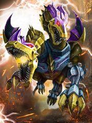Transformers Prime Twinstrike Beast Mode