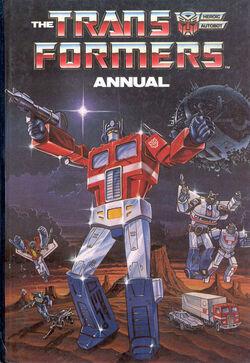Transformers annual 1987