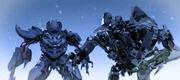 Megatron und Starscream (Cyber Missions 12)