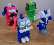 Mexican Happy Meal Energon Toys