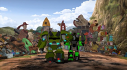 Grimlock and Bulkhead are now Good Friends