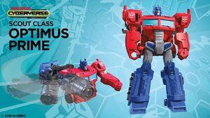 Optimus Prime Scout Cyberverse