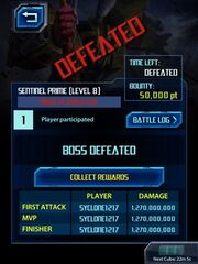 Transformers Legends Boss Defeated