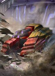 Transformers Legends Demolisher Vehicle Mode