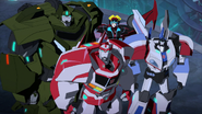 Bulkhead, Ratchet, Windblade and Jazz are now new Council