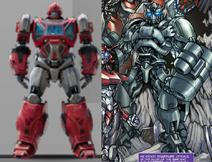 Cybertronian ironhide comparison