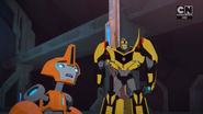 Fixit and Bumblebee (Combiner Force Final)