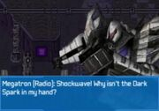 Rise of the Dark Spark 3DS Megatron Angry