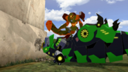 Scorponok threatning Grimlock