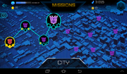 Transformers Battle Game Map Example