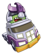Angry Birds Transformers Galvatron Vehicle Mode Image