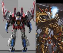 Cybertronian starscream comparison