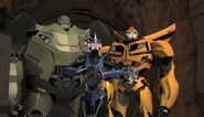Sick Mind Bulkhead, Arcee and Bumblebee