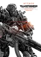 Transformers the last knight poster hound