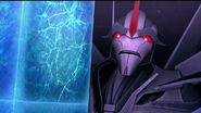 Orion Pax part 1 screenshot Starscream shocked