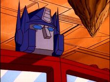 Optimus prime nomouthplate
